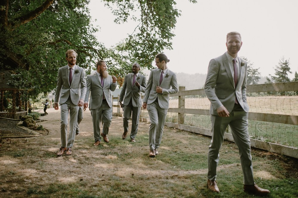 Groomsmen-Photo by Kristen Marie Parker