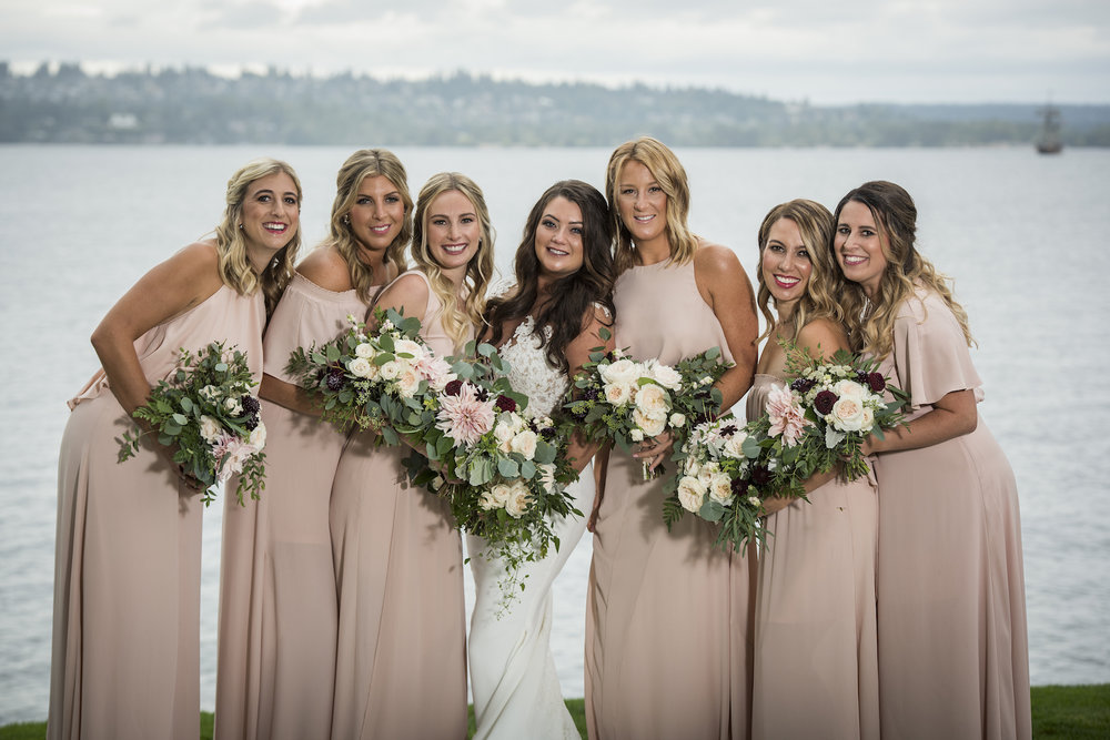 Bridal party Woodmark Hotel-IJ Photo