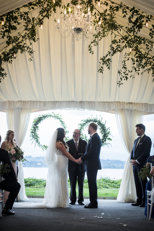 Ceremony with greenery-IJ Photo