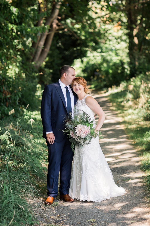 August beach wedding Amy Galbraith Photography