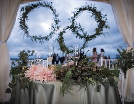 Woodmark Hotel Sweetheart Table IJPhoto