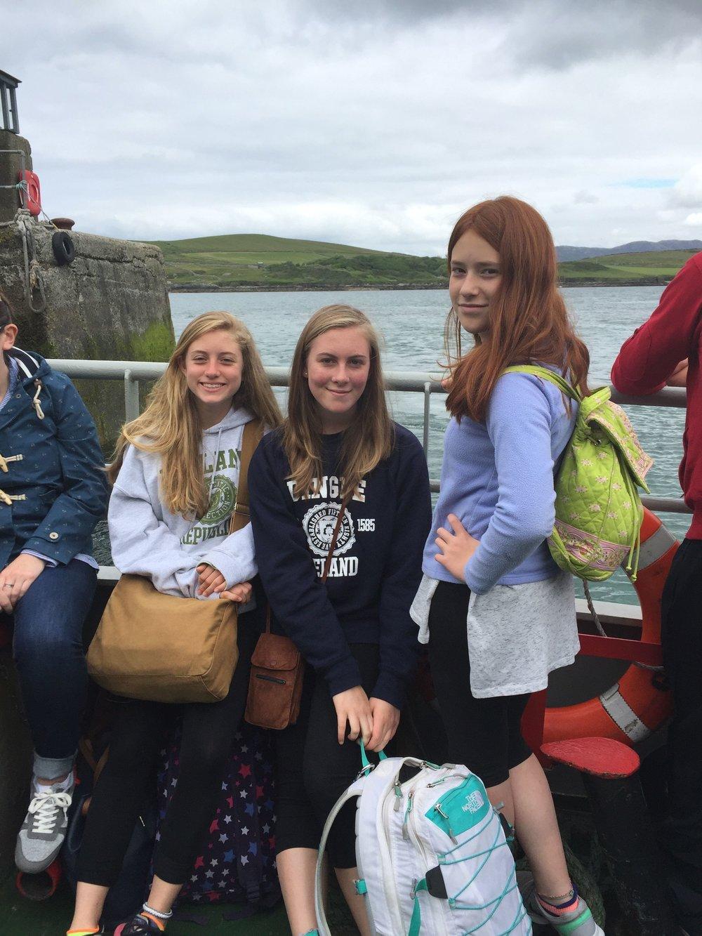 Cleggan to Inishbofin Ferry