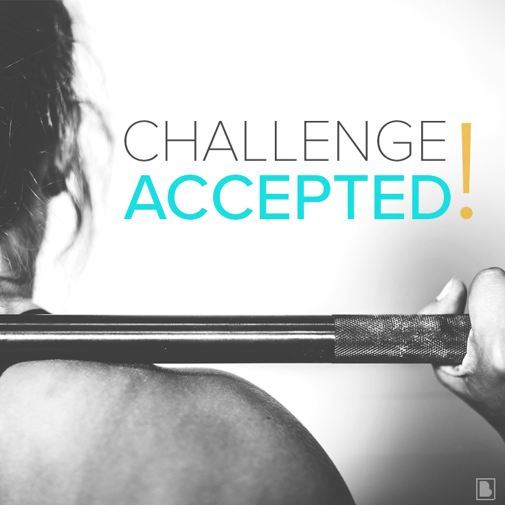 Challenge Accepted!—Make It Happen May Challengers