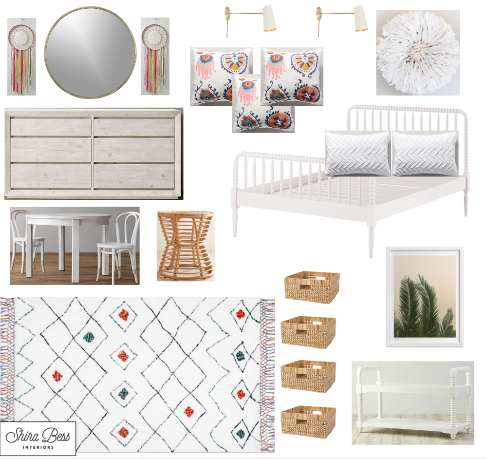 Naples Big Girl Room - Option 1