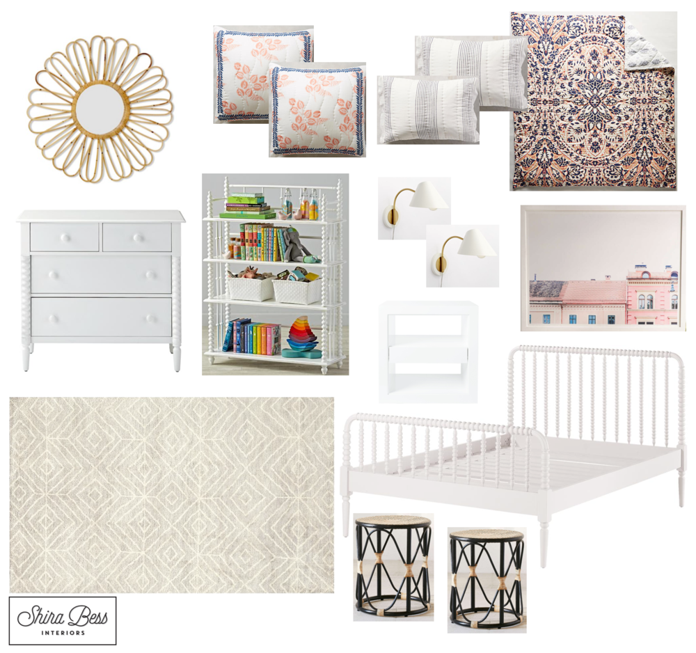 Naples Big Girl Room - Option 2