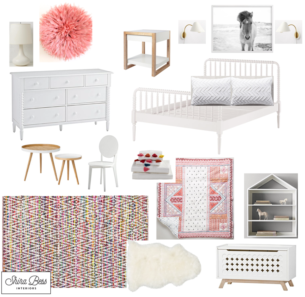 Naples Big Girl Room - Option 3