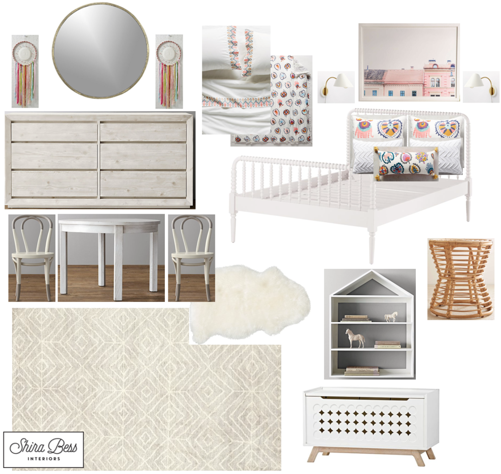 Naples Big Girl Room - Final Design