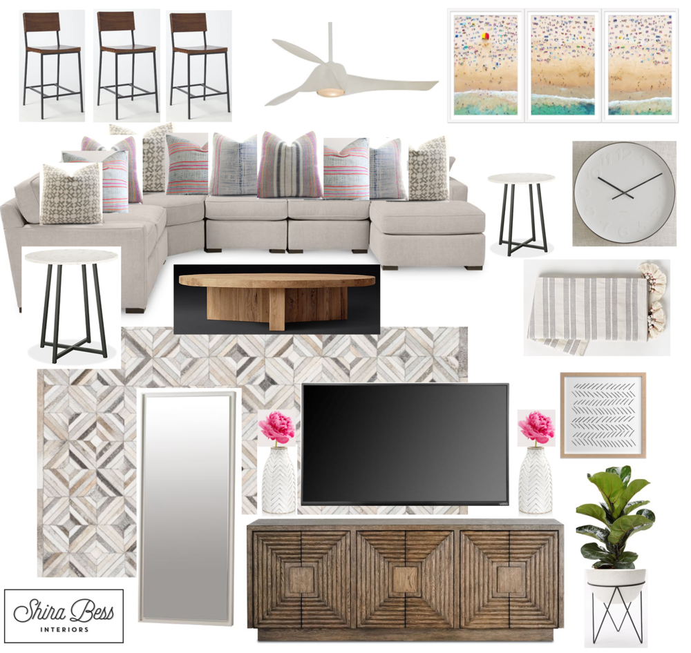 Boynton Family Room - Final Design