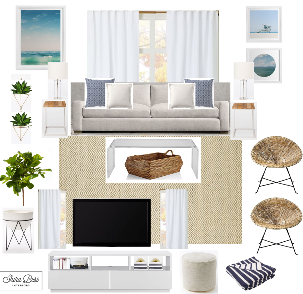 South FL Living Room - Final Design