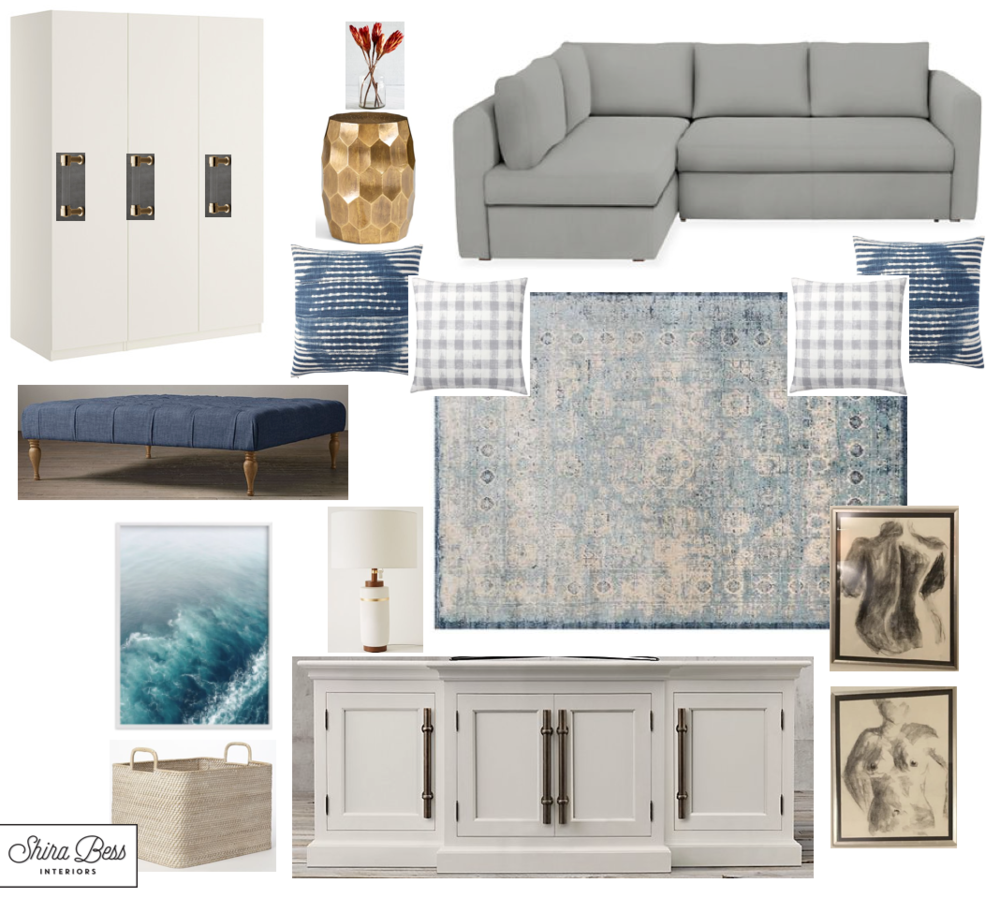 NYC Family Room - Option 2