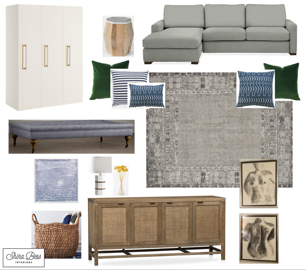 NYC Family Room - Option 3