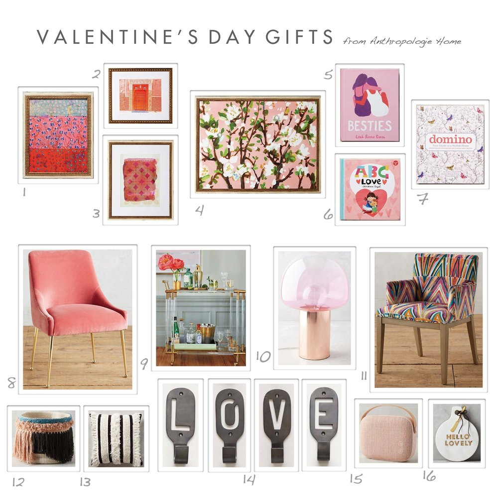 VALENTINE\'S DAY GIFT IDEAS — Shira Bess Interiors