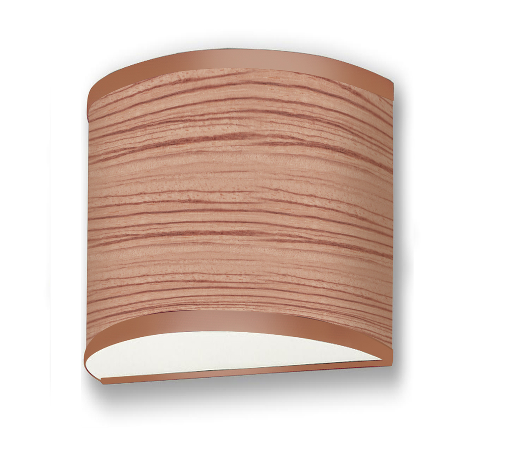 "Curved 06"" Sconce"