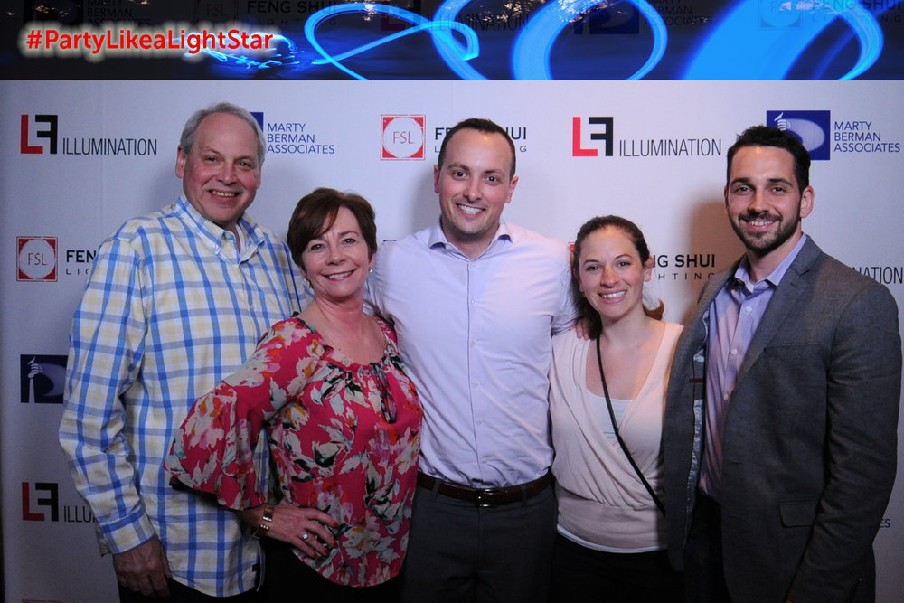 Steve Hirshenhorn (Marty Berman Associates) & family