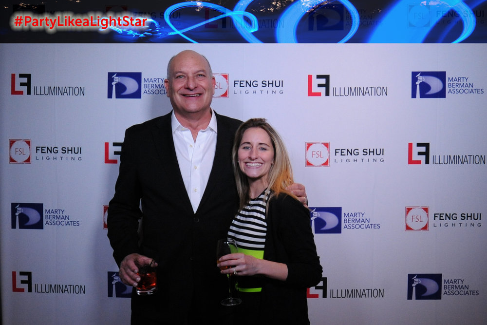 Larry Berman (Feng Shui Lighting), Chelsae Benewicz (Grenald Waldron Associates)