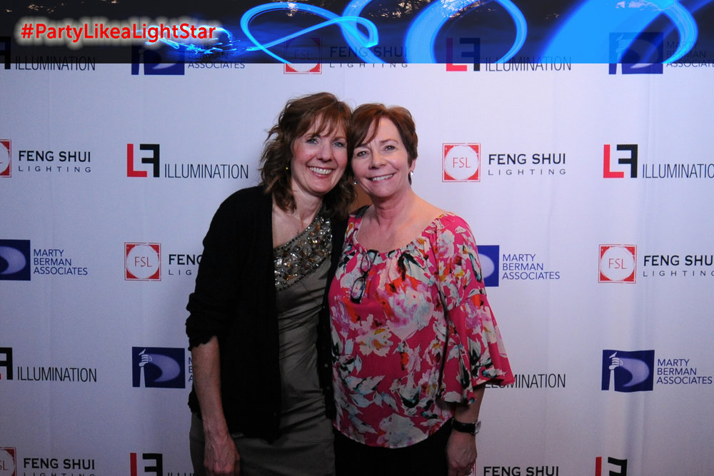 Lisa Cassel (Feng Shui Lighting), Beth Hirshenhorn