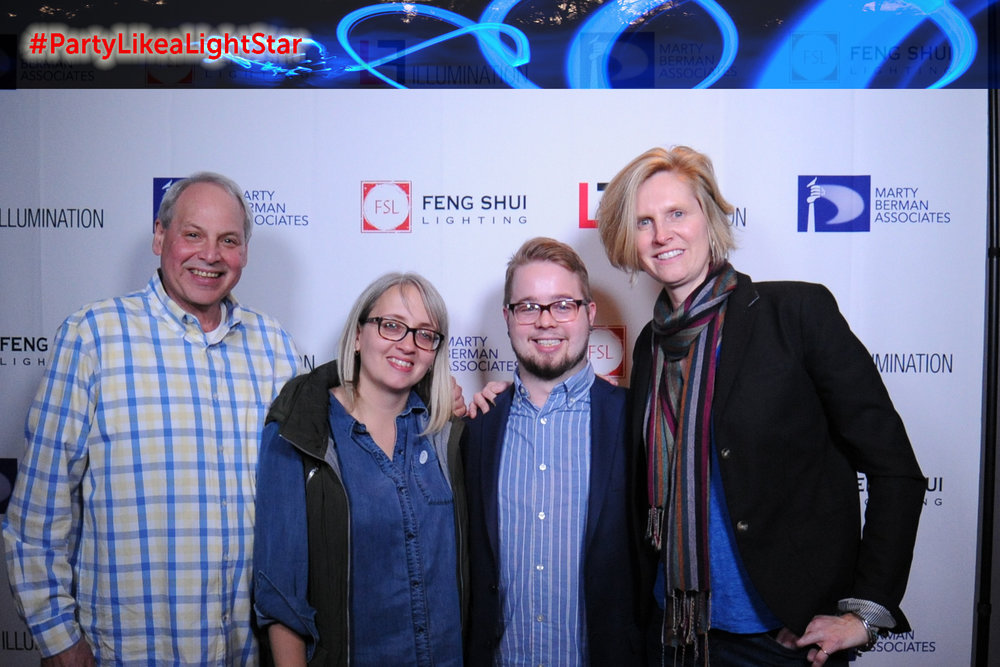 Steve Hirshenhorn (Marty Berman Associates), Christina Spangler (Beam Lighting Design), Jason Bradshaw (Beam Lighting Design), Kirsten Kent Carangi (Beam Lighting Design)