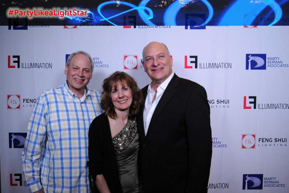 Steve Hirshenhorn (Marty Berman Associates), Lisa Cassel (Feng Shui Lighting), Larry Berman (Feng Shui Lighting)
