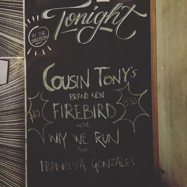 It's been a while, Melbourne. You ready @cousintonysbrandnewfirebird & @francescagonzales_?