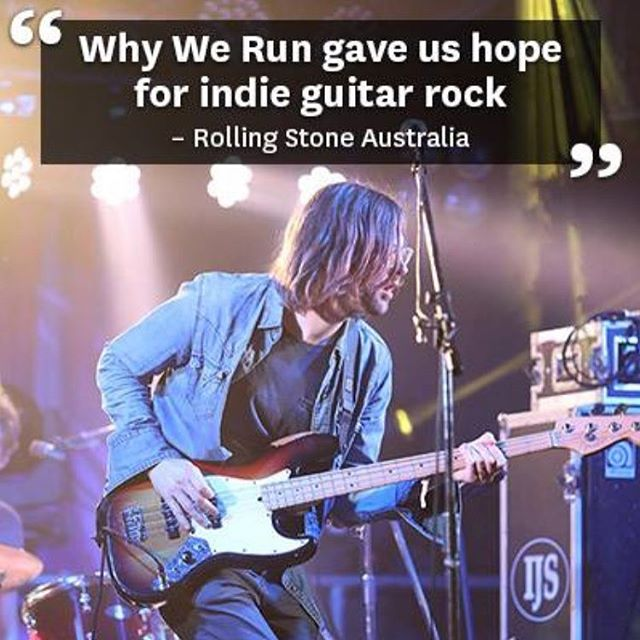Thanks to Matt Coyte at @rollingstoneaus for this pic and kind words from our night 3 @bigsound set. We had a brilliant time.
