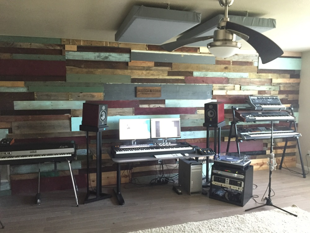 The studio as of June 27, 2016