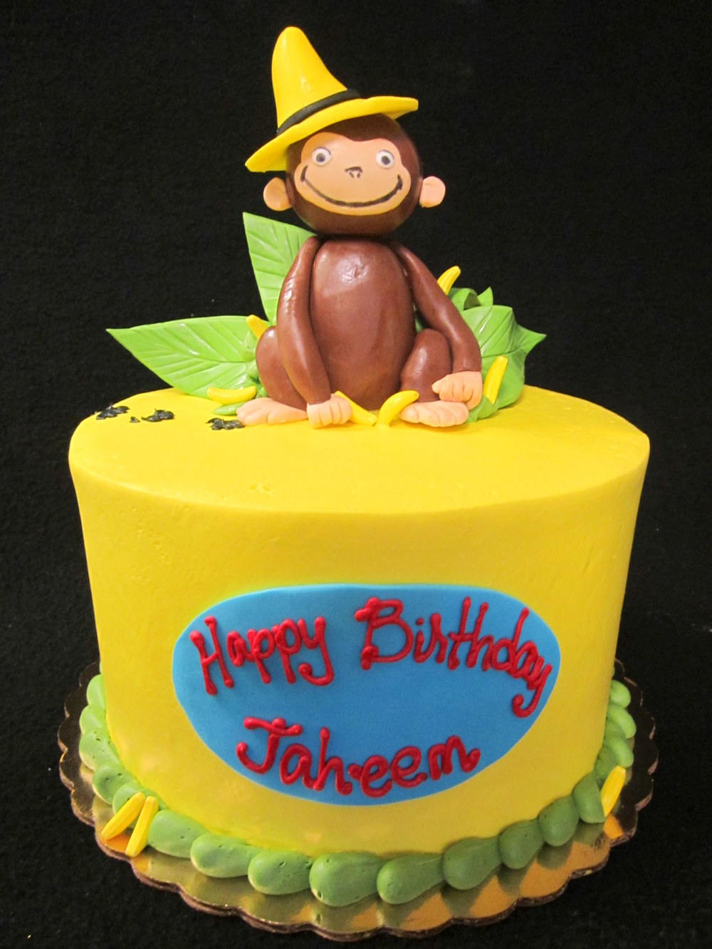 curious george  yellow cake.jpg