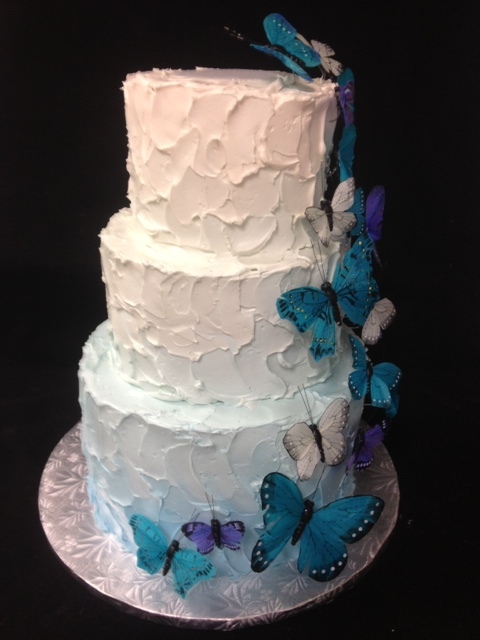 wedding cake-butterflies in blue.JPG