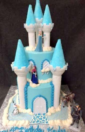 frozen character castle cake.jpg
