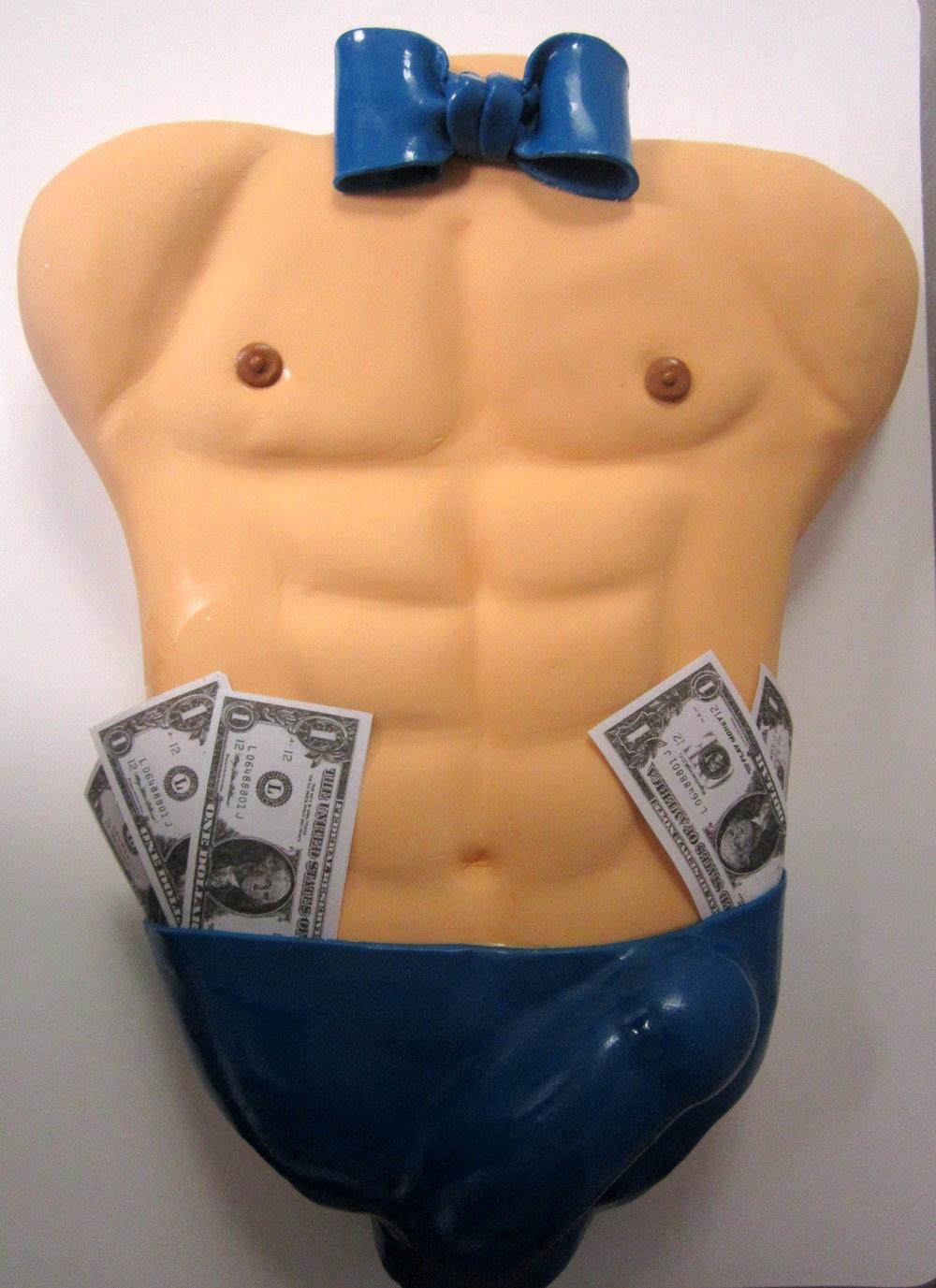 male torso stripper with dollar bills.JPG