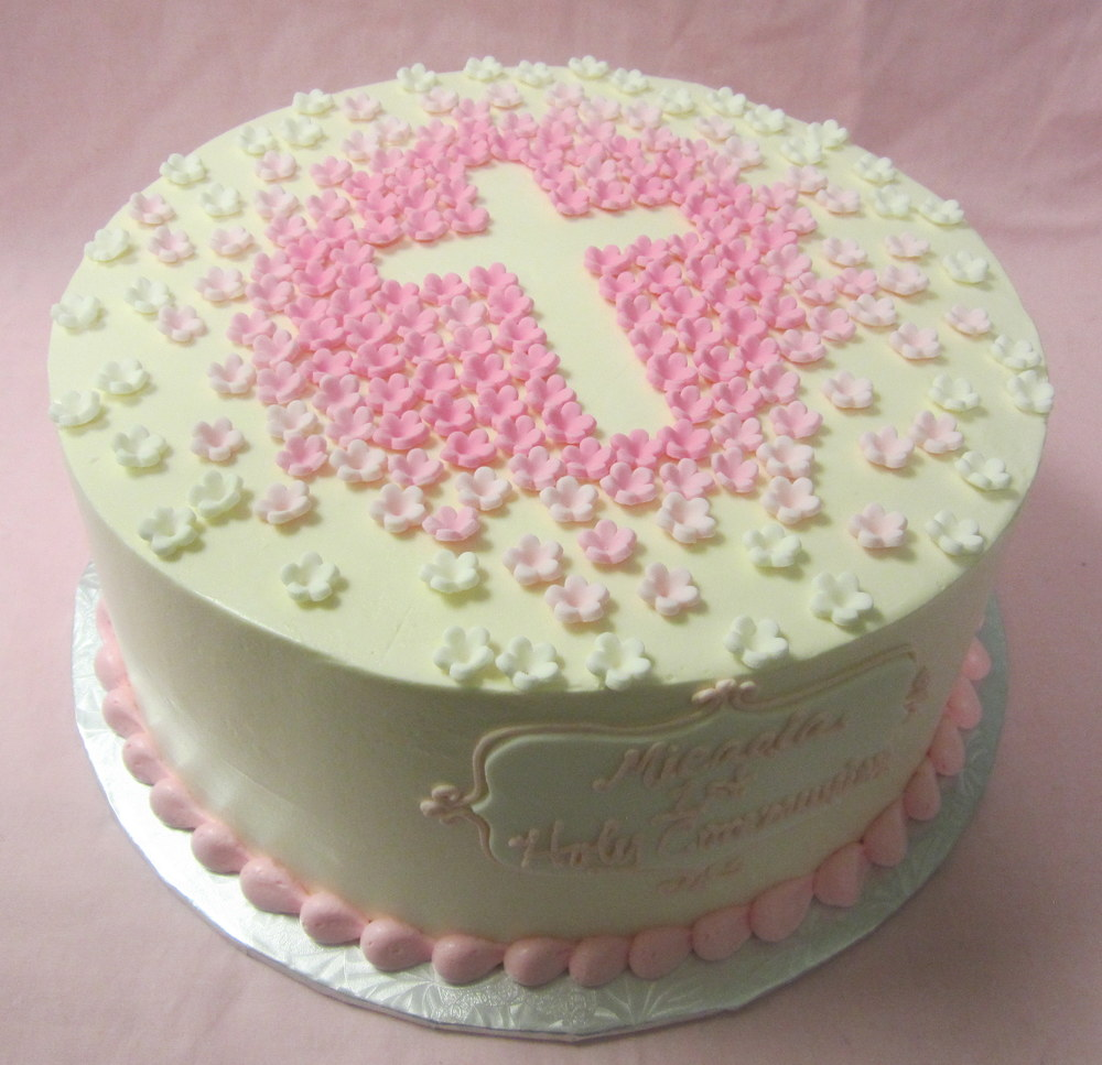 cross cake with ombre tiny fond flowers pink.jpg