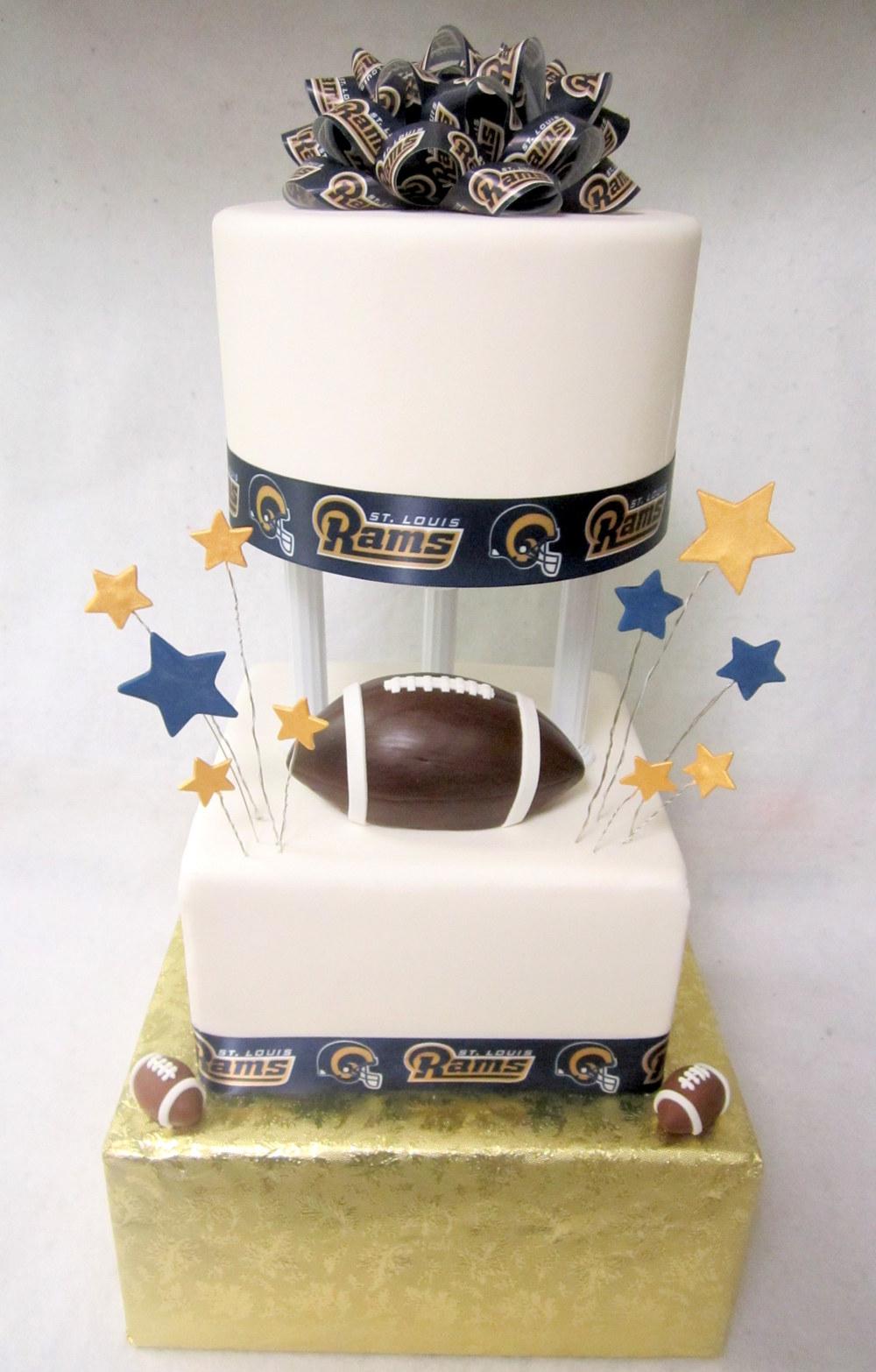 rams football tiered cake.jpg