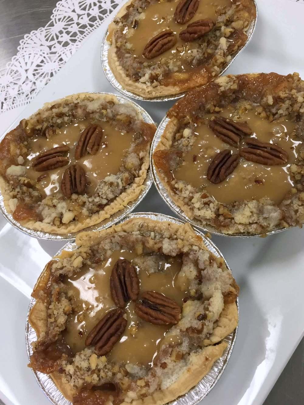 caramel apple pecan pies.JPG