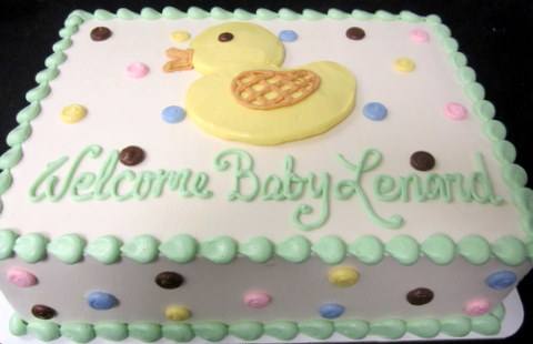 baby duck sheet cake.JPG