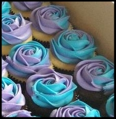 BOX OF 12 FLOWER CUPCAKES