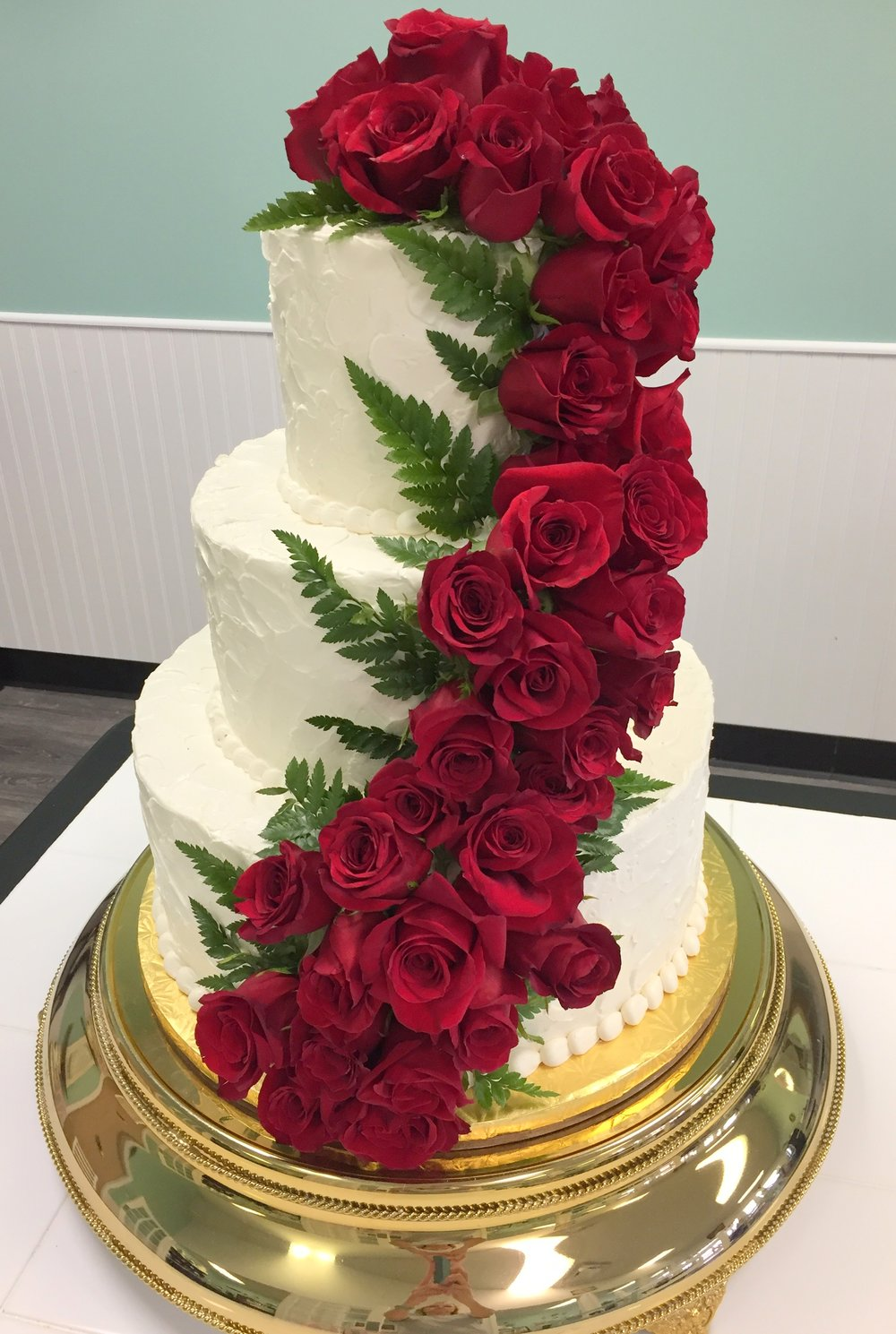 wedding - cascading red roses.JPG
