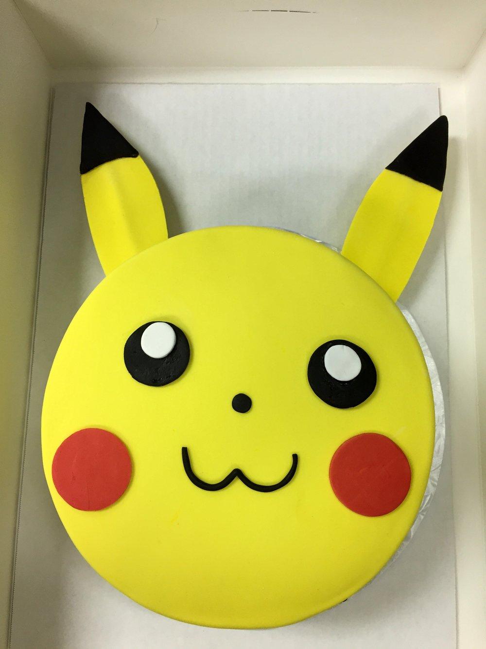 pikachu head cake.JPG