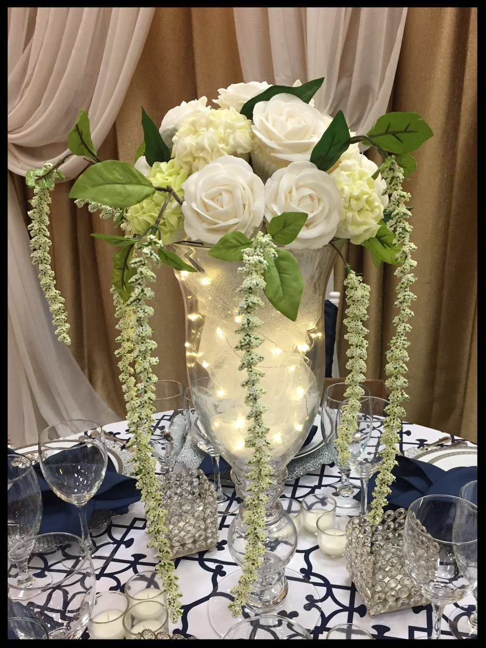 WEDDING TABLE CENTERPIECE - 18 cc