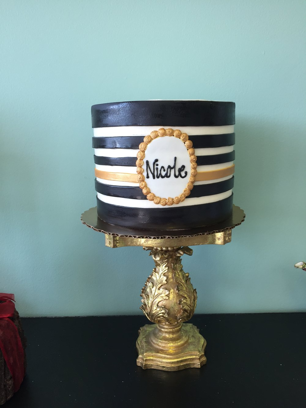 black striped with gold plaque.JPG