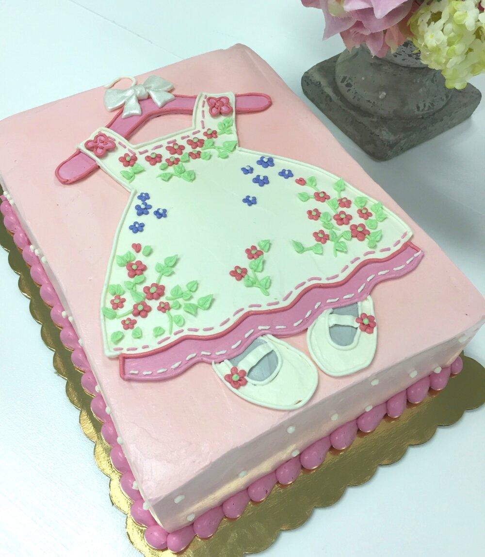 baby doll dress cake.JPG