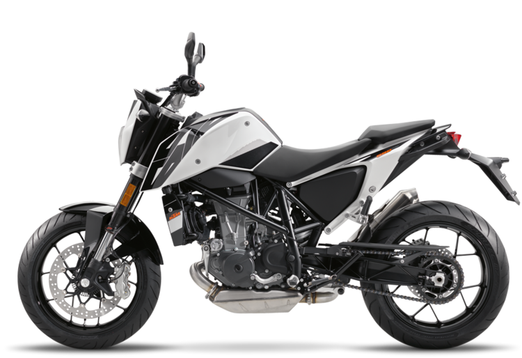 2017 ktm 690 duke - white — see see ktm of portland