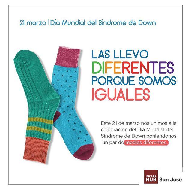 ¡Nos unimos a seguir buscando la igualdad de oportunidades para todos! #SomosIguales #DíaMundialDelSíndromeDeDown