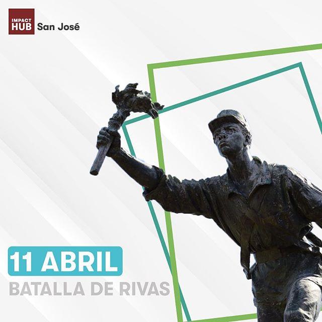 Hoy celebramos 163 años de la Batalla de Rivas con mucho orgullo y respeto a nuestra bandera tricolor 🇨🇷🙌🏼
