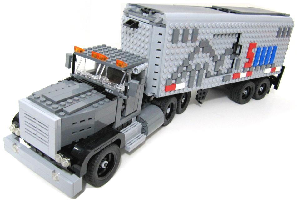 Joker's Peterbilt Truck