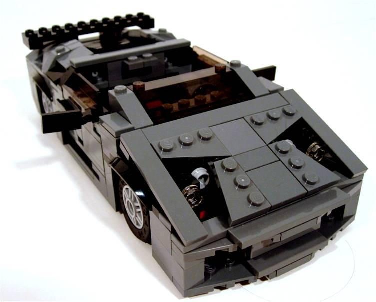 Bruce Wayne's Lamborgini