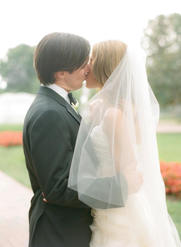 bride and groom portrait lafayette square