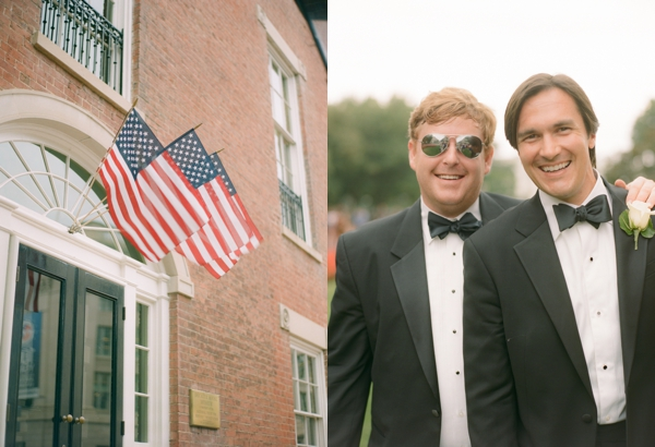groom and groomsmen at decatur house wedding dc
