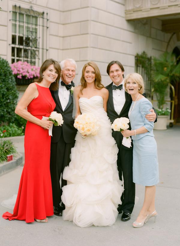 family photos at hay adams hotel wedding dc
