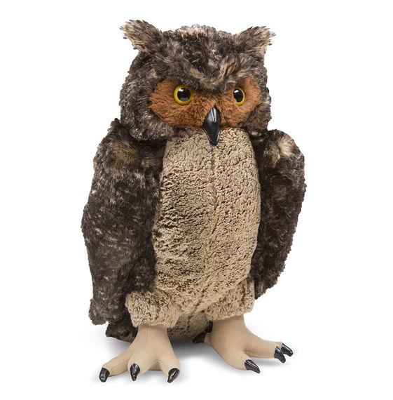 Life Like Plush Owl Vino Oregon