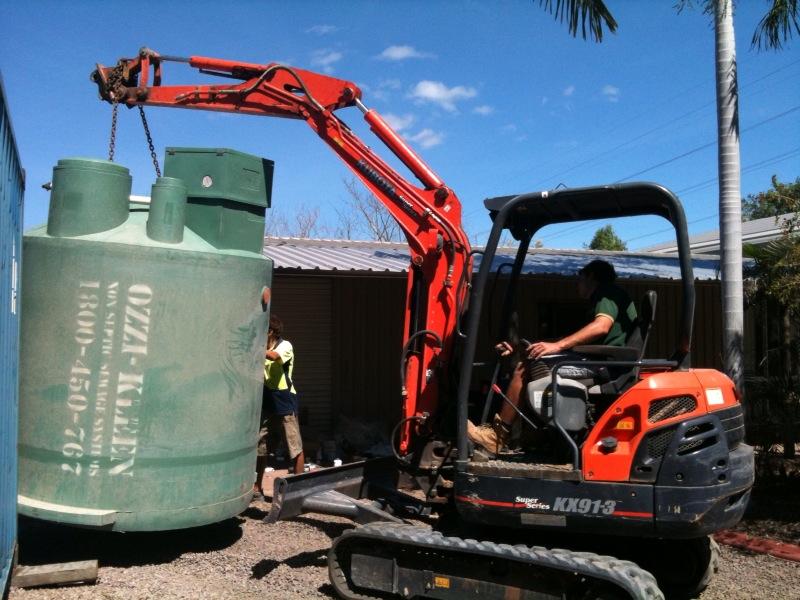 RP10 Tank being installed.jpg