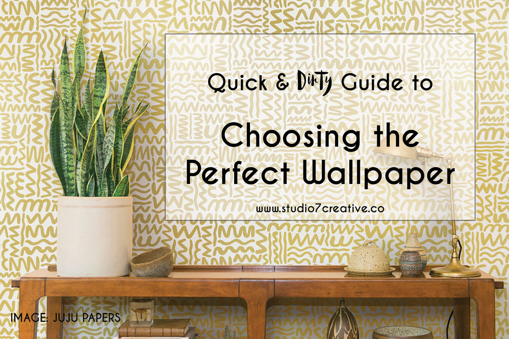 Choosing the Perfect Wallpaper